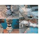 Trépans à plaquettes carbure pour métaux