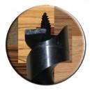 Hélice décolletée sous l'âme - Forme Lewis - Longueur 230 mm